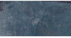 Blauwe Energieker Magnetic Vloer- en wandtegel 30x60cm gerectificeerd Industriële look Blue Mat SW07311850-4