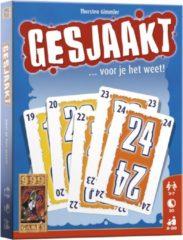 999 Games kaartspel Gesjaakt