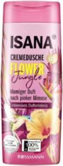 ISANA Douchecrème Flower Jungle - bloemengeur van roze mimosa - pH-huidneutraal (300 ml)