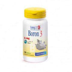 Longlife Boron 3mg 100 compresse