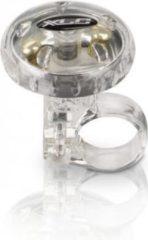 XLC bel draai transparant zilver