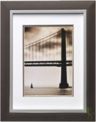 Fotolijst - Henzo - Frisco Bay - Fotomaat 15x20 cm - Donkerbruin