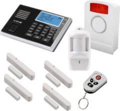 Olympia Protect 9061 GSM Funk Alarmanlage Super-Set mit Außensirene