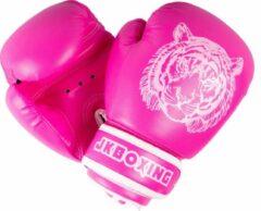 JKBOXING bokshandschoenen 8 oz. Roze