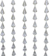 Lesliliving Lesli Living Diamant - Kralengordijn - 90x200 cm - Blank/Doorzichtig
