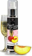 Secret Play Massage Oil Peach and Sparkling Wine