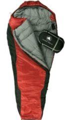 10-T Outdoor Equipment 10T Schlafsack Innoko M -21° warm weich 2500g Mumienschlafsack 200x85 Rot / Schwarz 400g/m²