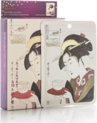 Witte Mitomo Japan Mitomo™ Q10 & Lithospermum Gezichtsmasker - Anti Aging Face Mask - Gezichtsverzorging Masker
