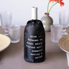 Zwarte Wijnkoelsleeve - Balvi