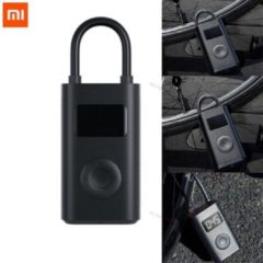 Zwarte Xiaomi Elektrische Pomp Voor Elektrische Step, Auto, Fiets en Bal