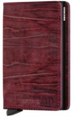 Rode Secrid Slim Wallet Dutch Martin pasjeshouder bordeaux