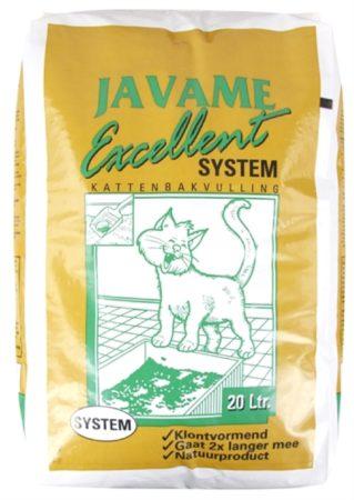 Afbeelding van JAVAME EXCELLENT SYSTEM KATTENBAKVULLING #95; 20 LTR