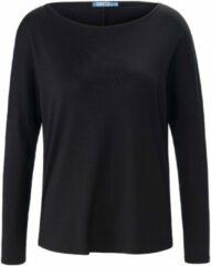 Shirt met ronde hals en lange mouwen Van DAY.LIKE zwart