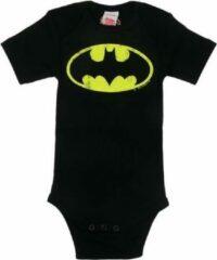 Zwarte Batman baby rompertje - Logoshirt - 98/104