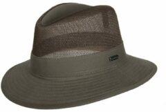 Groene Hatland Greenville hoed Olive/4