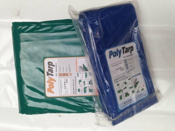 Afbeelding van PVC-Tarp.com / Lankotex Afdekzeil | Dekzeil | Dekkleed | Afdekkleed | Bache | PVC-600 |3,5 x 6 groen