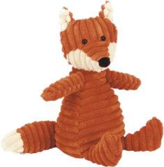 Bruine Jellycat - Fox - Small - Cordy Roy vos - Knuffel - 26cm