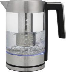 Roestvrijstalen Princess 236042 Waterkoker London Deluxe - Glazen Waterkoker - 1,7 liter