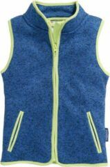 Playshoes - Kid's Strickfleece-Weste - Fleecebodywarmer maat 80, blauw
