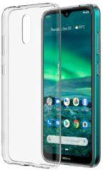 Nokia Back case - voor Nokia 2.3 Telefoonhoesje Transparant