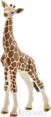 Bruine Schleich Giraffe baby 14751 - Speelfiguur - Wild Life - 6,8 x 3,5 x 11,8 cm