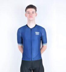 TBT Sportwear TBT Classic Fietsshirt Donkerblauw Man Maat S