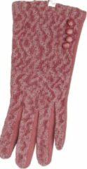Roze ECgloves Handschoenen dames met touchscreen