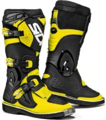 Sidi Kinder Crosslaarzen Flame Black/Fluor Yellow-40 (EU)