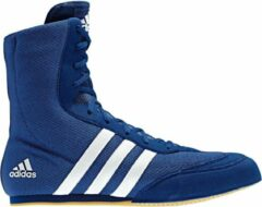 Adidas Box Hog 2 - Boksschoenen - Mannen - Maat 46 - Blauw/Wit