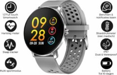 Denver SW-171 / Smartwatch / Bluetooth Sportwatch met hartslagmeter / Social activity / iOS & Android / Grijs