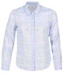 Blauwe Overhemd Casual Attitude GAMOU