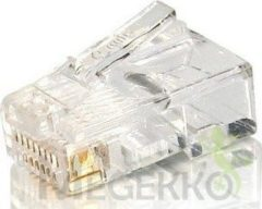 Equip 121140 kabel-connector RJ-45 (8P8C) Transparant