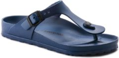 Marineblauwe Birkenstock Gizeh EVA Unisex Slippers Regular fit - Navy - Maat 39