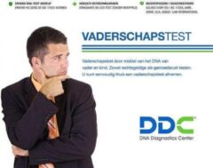 DDC Diagnostics Vaderschapstest 25 loci vader, kind + 3 personen