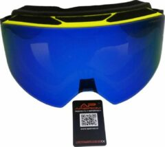 Blauwe Apeirom Hercules Ski-/Snowboardbril unisex