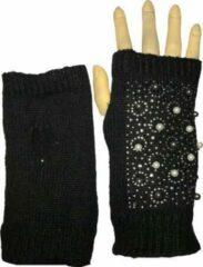 Winter handschoenen 3 in 1 - SNOWY NIGHT van BellaBelga - gitzwart