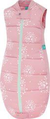 Roze Ergopouch Babyslaapzak Organic Cotton Dandelion 3.5 TOG - 2-12 mnd