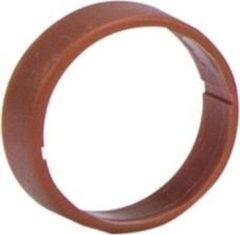 Bruine HICON HI-XC marking ring for Hicon XLR straight brown