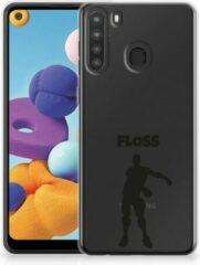 Smartphone hoesje Samsung Galaxy A21 Telefoontas Floss Fortnite