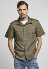 Brandit Blouse - Shirt - Ripstop - Shortsleeve - Urban - Casual - Streetwear Overhemd - Shirt Heren Overhemd Maat XL