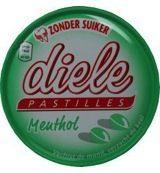 Diele Pastilles Menthol Suikervrij 50 gram
