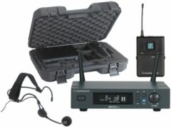 Audiophony PACK-UHF410-Head-F5 draadloos systeem headset 514-564 MHz + koffer