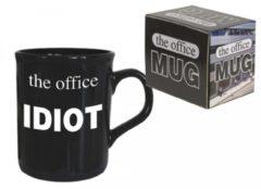 Zwarte ALOALO The office mug - tas - mok - The office Idiot - 320 ml