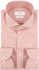 Oranje Profuomo Sky blue slim fit overhemd met lange mouwen