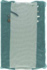 Snoozebaby aankleedkussenhoes Happy Dressing van organic katoen - 45x70cm - Smokey groen groen