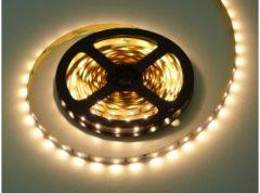 Groenovatie LED Strip - 5 Meter - 7.2 Watt/meter - 2835 LED's - Doorkoppelbaar - Warm Wit