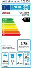 Waschmaschine Frontlader WA 14656W (7 Kg, 1400 U/min, 175 kWh, A+++) Amica Weiß