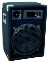 Zwarte OMNITRONIC dj speakers set - DX-1222 - 3-weg - 600 W - dj boxen