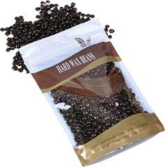 MEGA BEAUTY SHOP® Wax beans 100gr. Chocolate- Hard wax beans- Hard wax beans- Ontharingswax- Harskorrels- Harde hars- Ontharingshars- Harsen- Waxen- Hars parels