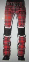 Rode SOS Sportswear of Sweden ski broek WS JACKY PANT Racing Red Tartan 44